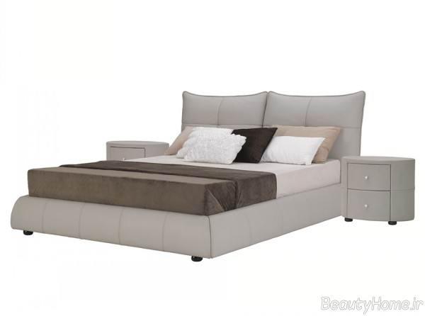 مدل تختخواب چرمی