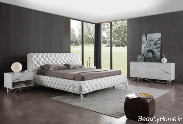 تخت خواب سفید
