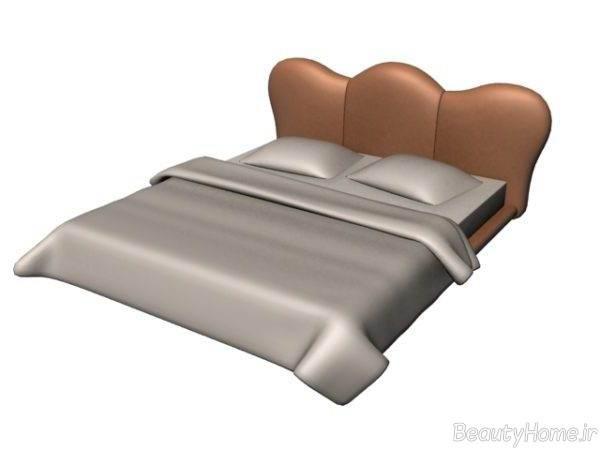 تختخواب زیبا و چرمی