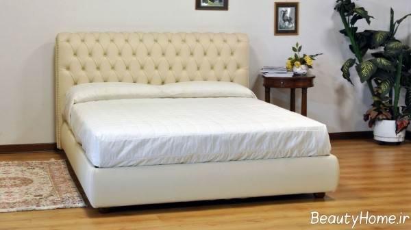 تختخواب رنگ روشن