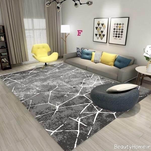 فرش فانتزی برای پذیرایی