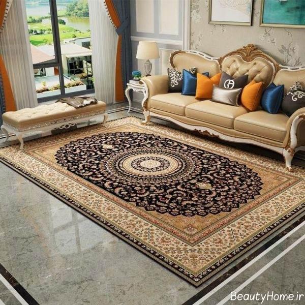 فرش طرح دار