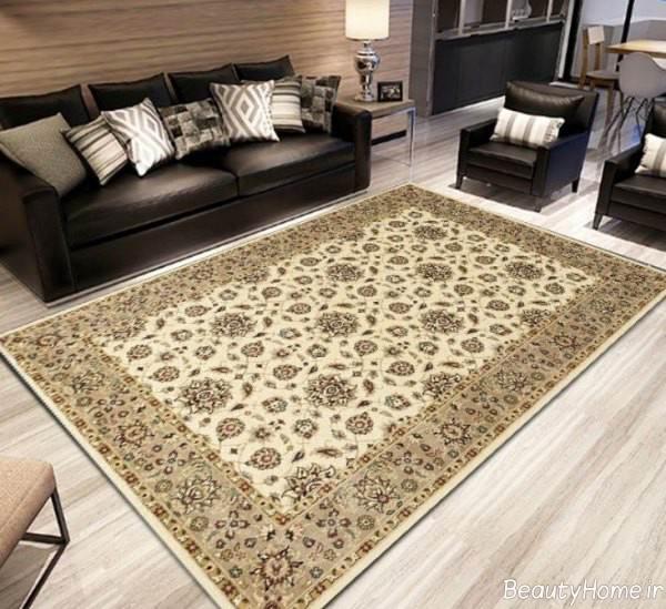 مدل فرش طرح دار ایرانی