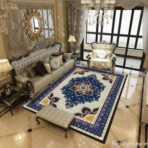 فرش خاص برای پذیرایی