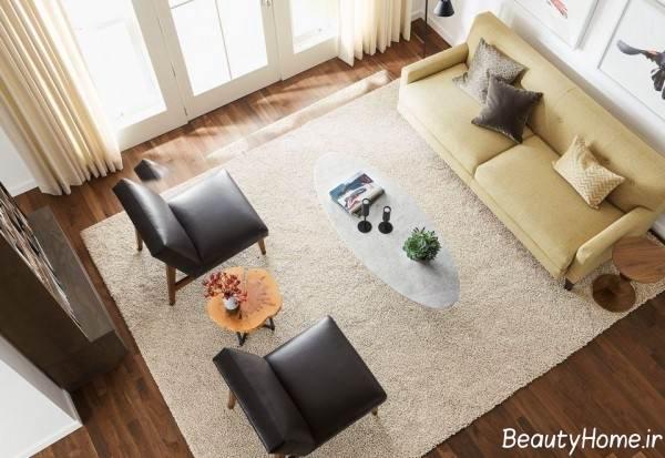 مدل فرش پذیرایی ساده