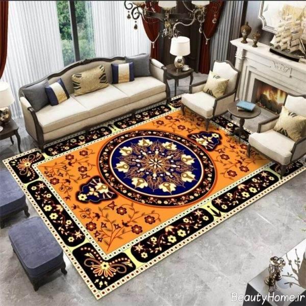 فرش طرح دار مخصوص پذیرایی