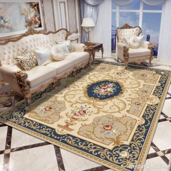 طرح فرش پذیرایی