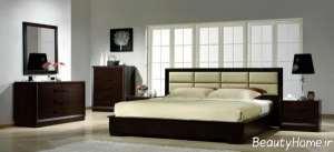 تخت خواب شیک و ساده