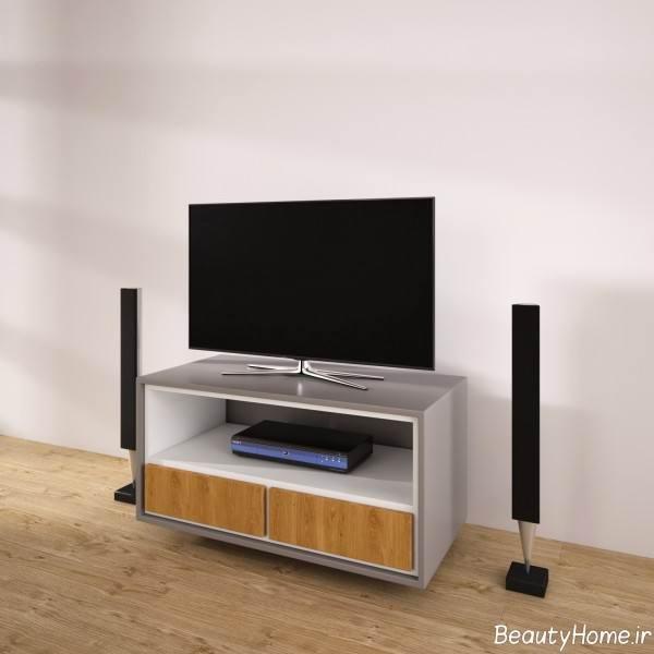 میز تلویزیون شیک و کوچک