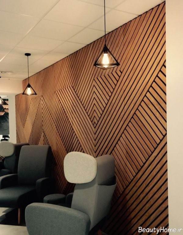 پانل چوبی سه بعدی