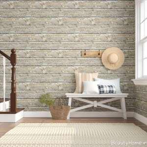 دیزاین داخلی منزل با پنل چوبی