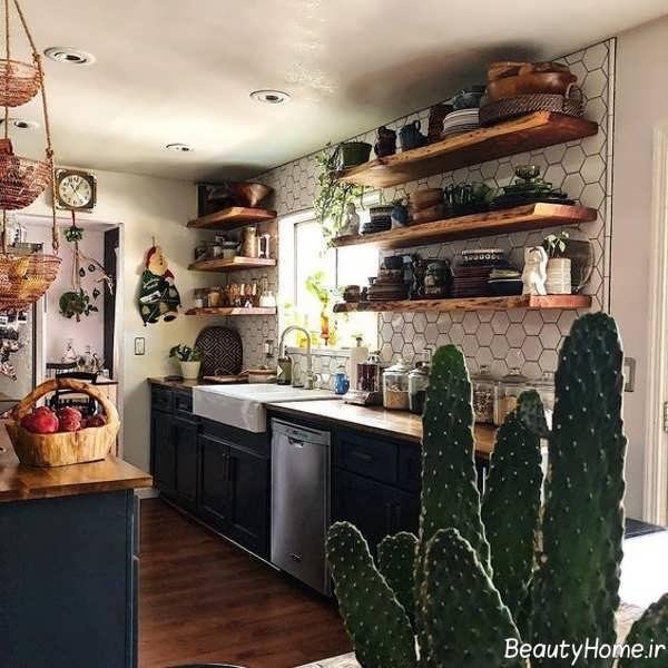 دکوراسیون آشپزخانه بوهمین