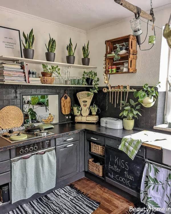 دیزاین داخلی آشپزخانه بوهو