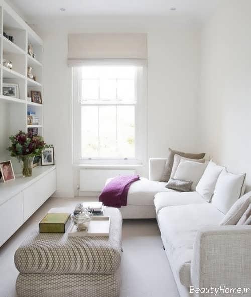 بزرگ نشان دادن فضای اتاق های منزل