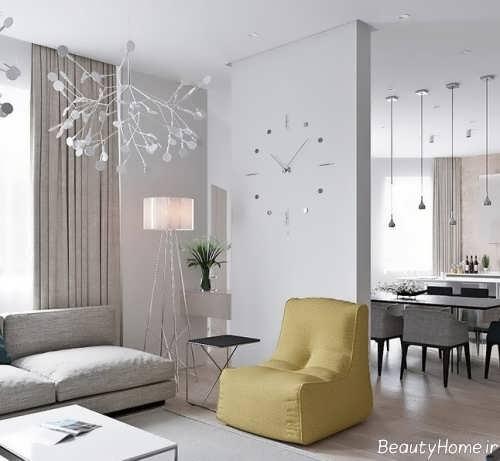رنگ آمیزی اتاق با رنگ روشن