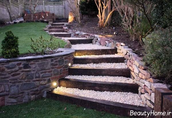 طراحی نورپردازی راه پله