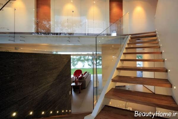طراحی نورپردازی برای راه پله های منزل