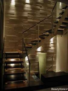 نورپردازی برای پلکان منزل