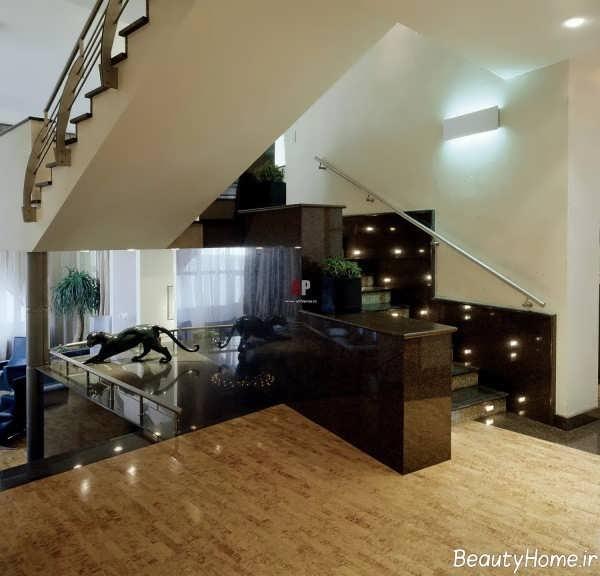 طراحی نورپردازی برای پله ها