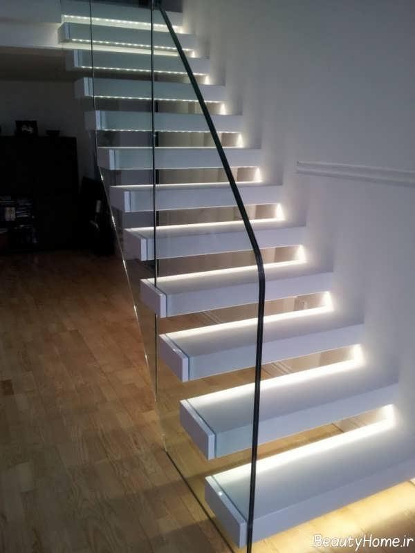 نورپردازی کاربردی برای راه پله ها