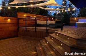 نورپردازی شیک و کاربردی پله ها