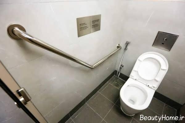 توالت فرنگی زیبا و مدرن