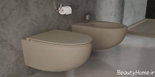 توالت فرنگی تاشو دیواری