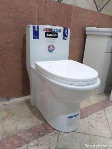 طرح زیبا دستشویی فرنگی