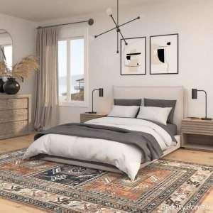 قالیچه زیبا و طرح دار