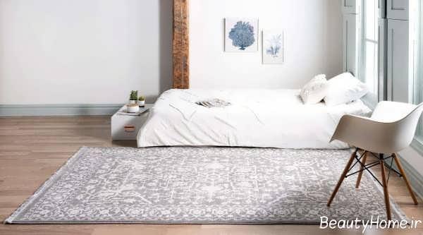 قالیچه شیک و رنگ روشن