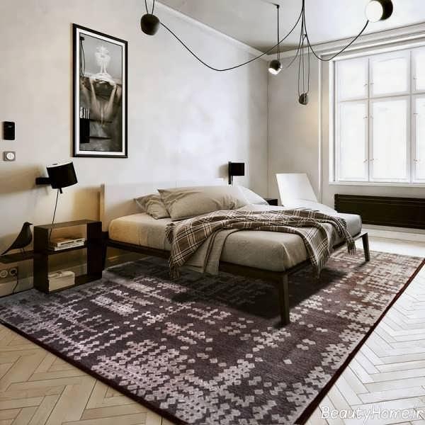 قالیچه شیک برای اتاق خواب