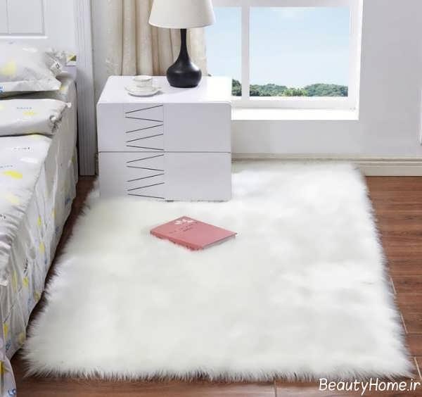 قالیچه سفید