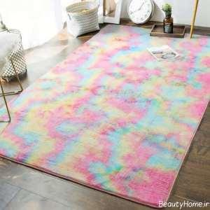 قالیچه رنگی