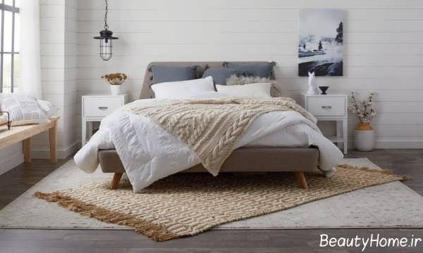 قالیچه زیبا برای اتاق خواب
