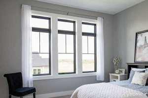 مدل پنجره اتاق خواب