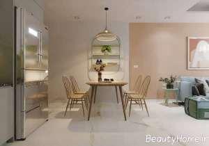 دکوراسیون منزل با رنگ های آرام