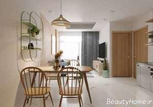 دکوراسیون شیک منزل با رنگ های آرام بخش