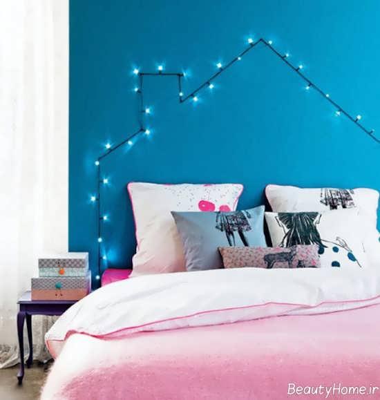 ایجاد نور مخفی در اتاق خواب