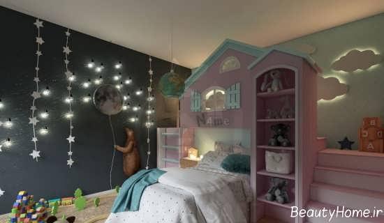 نورپردازی مخفی در فضای اتاق خواب