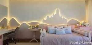 دیزاین نور مخفی در اتاق خواب