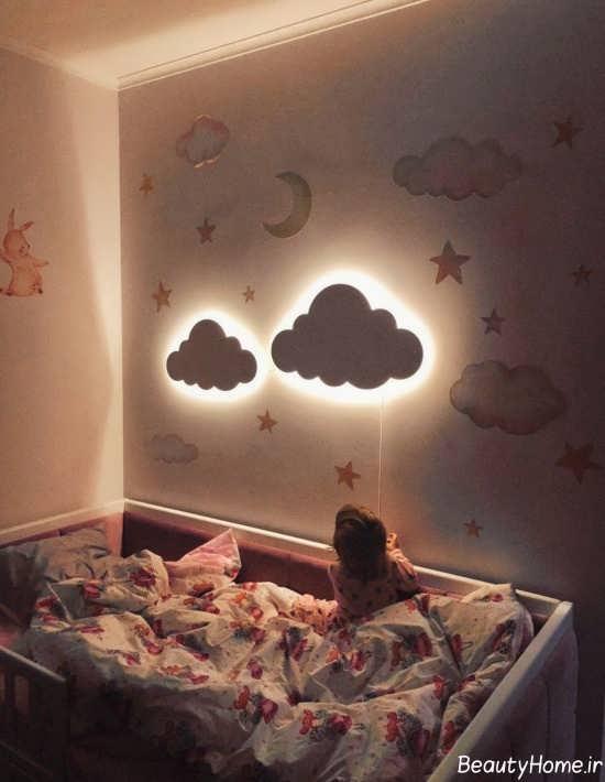روش هایی برای ایجاد نورپردازی مخفی در اتاق خواب
