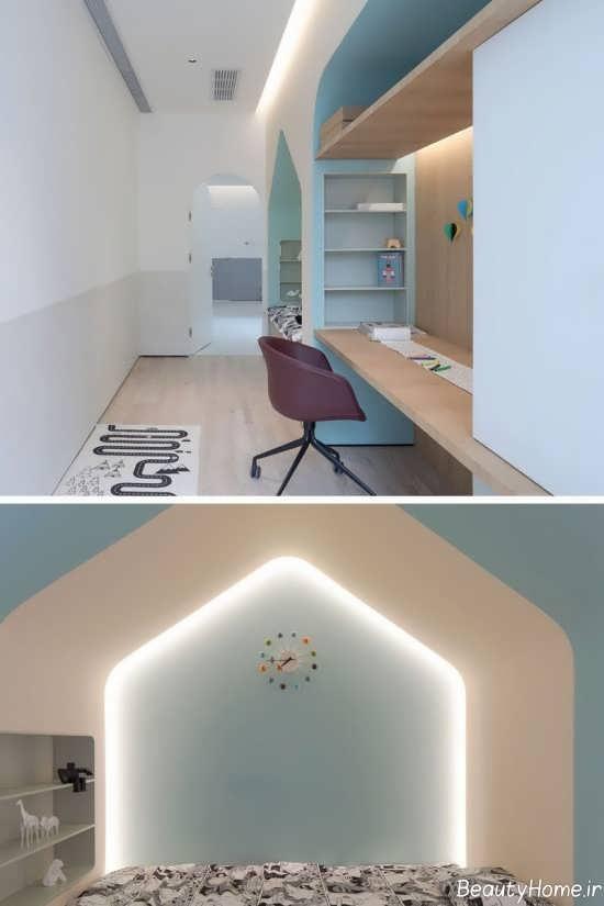 ایده هایی برای نور مخفی در اتاق خواب