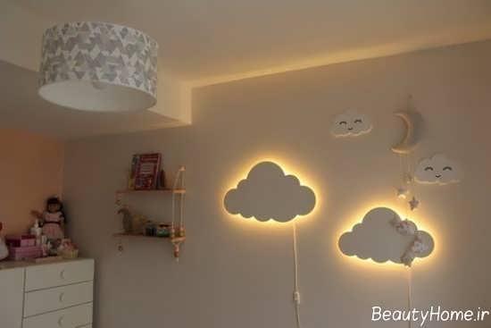 طراحی نورپردازی در اتاق خواب