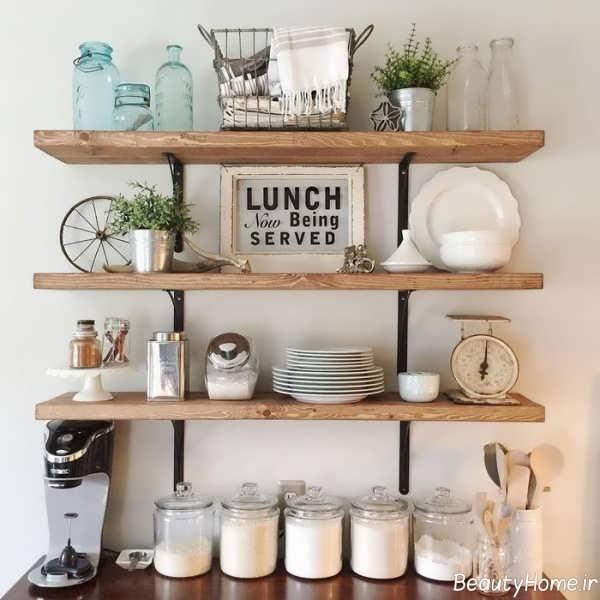 قفسه زیبا مخصوص آشپزخانه