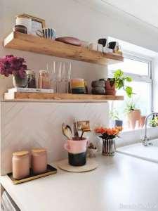 مدل قفسه برای آشپزخانه