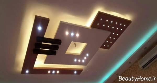 نورپردازی کناف مربعی