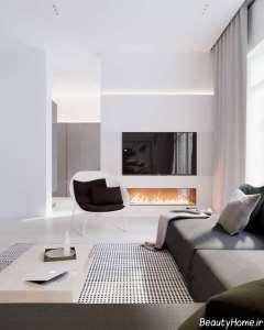 نورپردازی اتاق تلویزیون