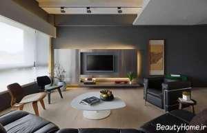 دیزاین داخلی تی وی روم