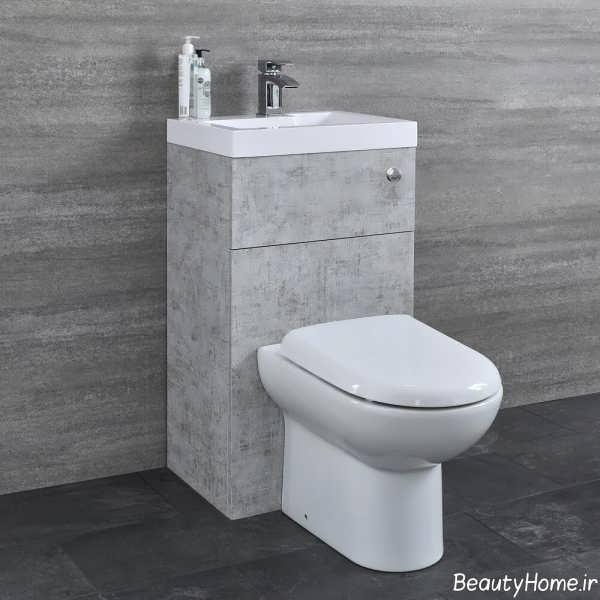 دستشویی فرنگی سفید و زیبا