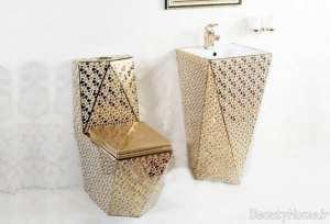 توالت فرنگی زیبا و جذاب